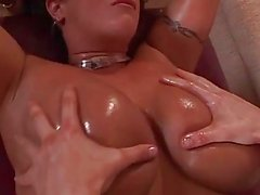 Massage then fucks her chubby body