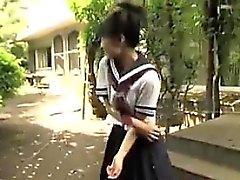 Japanilaisen koulutytöt vilkku alushousut