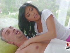 asian pornstar sex with cumshot clip segment 1