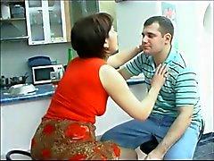 Russian Mature Aunt Hardcore Sex