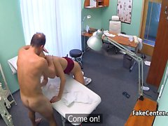 Nurse fucking doctor at hospital