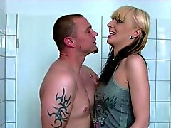 German Brother Seduce Step-Sister to Fuck him in Bathroom