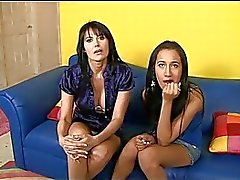Hot meeting with very sexy milf and her daughter