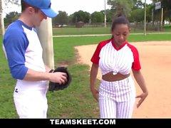 Sexig Baseball Babe