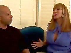 O ava Devine goste ampla black cock