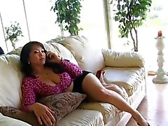 Asian Mom Tries Daughter's Boyfriend Black Cock