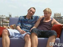 Frecher Hahn Riding mit der Homosexuell Gestüt