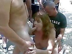 Swinger action outdoor