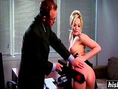 Alexis Texas goza de alguna acción BDSM increíble
