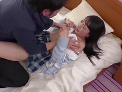 Asian schoolgirls love to dominate their classmates tiny hairy peckers