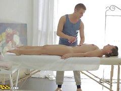 Massage hard core sex with anal