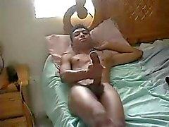 Jackin ' Его длинные темные Cock