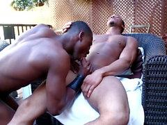 NextDoorEbony Chillin' With 2 Friends & My Big Black Dick