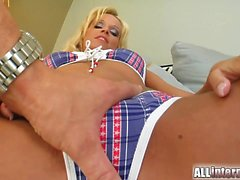 Two hard cocks is exactly what this slut needs. She sucks