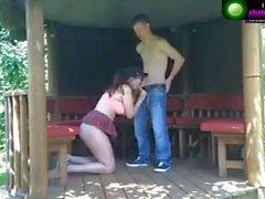 Outdoor Fuck on webcam