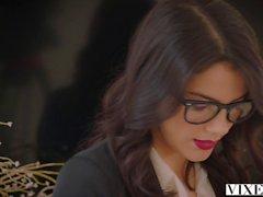 VIXEN Hot Valentina Nappi seduces her married boss