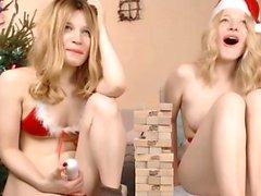 Lesbian masseuse fingering blonde