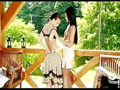 Ashley Das Bulgari & Her sehen Lesbian Lover