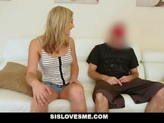 SisLovesMe - Pranking Stepsis Boned by Stepbro