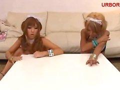 kirakira BLACK GAL threesome maid 01