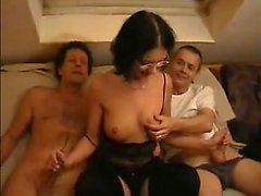 Hot amateur german threesome
