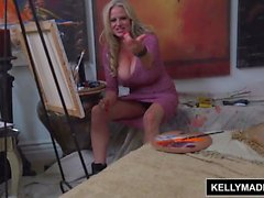 Kelly Madison fodendo o Art Modelo masculino