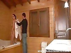 İtalyan Amatör Ev hanımı Laura