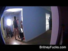 Hinter den Kulissen Sie Spaß mit Britney BERNSTEIN Missy Martínez