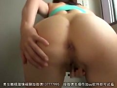 Asian maids jerk off their master