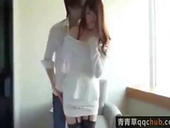 sweety Japanese teen girl with lovely stockings 甜甜的丝袜美少女