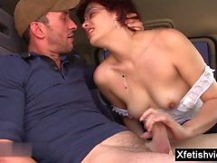 Hot pornstar fisting and cumshot