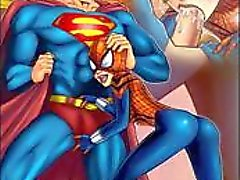 Superman Vs spidergirl