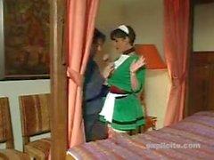 Elodie Cherie - French Maid Gangbanged