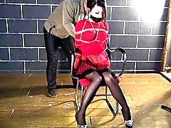 Vestido Vermelho da sujeição Para de Hottie asiáticos