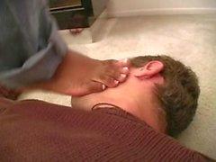 Goddessmax footfetish-seksi siyah ayaklar part2