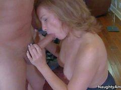 Rebecca Bardoux finds her son's buddy Anthony Rosano sexy. She