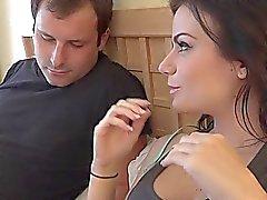 Alexis fiammata di condivide il un cazzo con suo marito