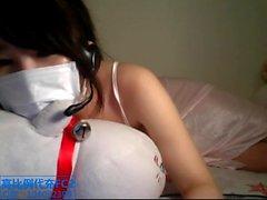 Webcam masturbación super caliente asiático espectáculo adolescentes 9