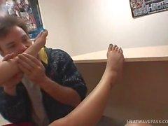 Perfekte Toes Foot