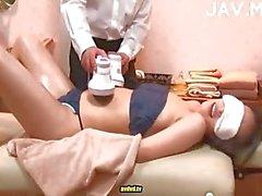 Hidden cam massage