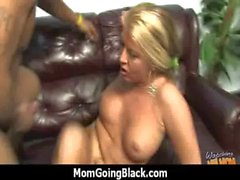Hot milf fucks hard an huge black cock 27