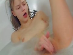 Russian teenager pleasuring in a jacuzzi