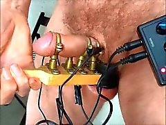 Metal Cock holder electric to balls cock