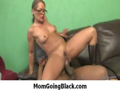 Milf is horny for fat big black cock monster 18