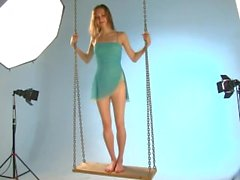 Ballerina Annett - Seesaw photoshoot