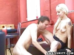 Amateur girlfriend suck and fuck