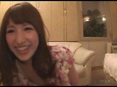 Asian amatör körd i hennes håriga japanska fitta
