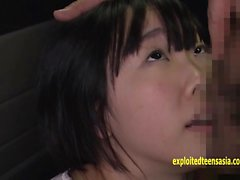 Cute Jav Idol Rin Aoki Fucks Old Guy In Back Of Van