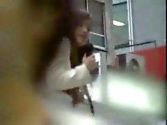 Those crazy japs, reporter fucked on top of van