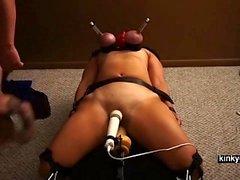 Lesbianas BDSM esclavo Amateur con Nicole